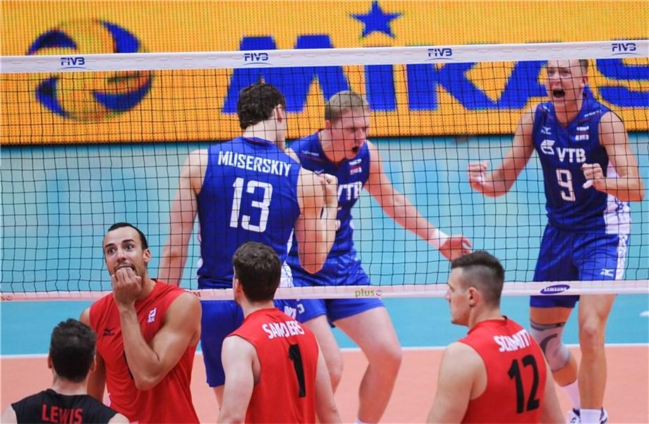Com Muserskiy inspirado, Russia vence Canadá na estreia do Mundial