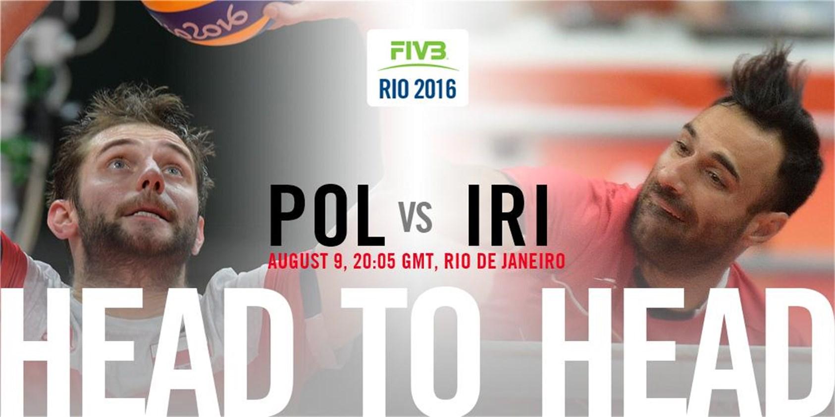 فیلم و نتیجه مسابقه والیبال ایران و لهستان در المپیک 2016 ریو
