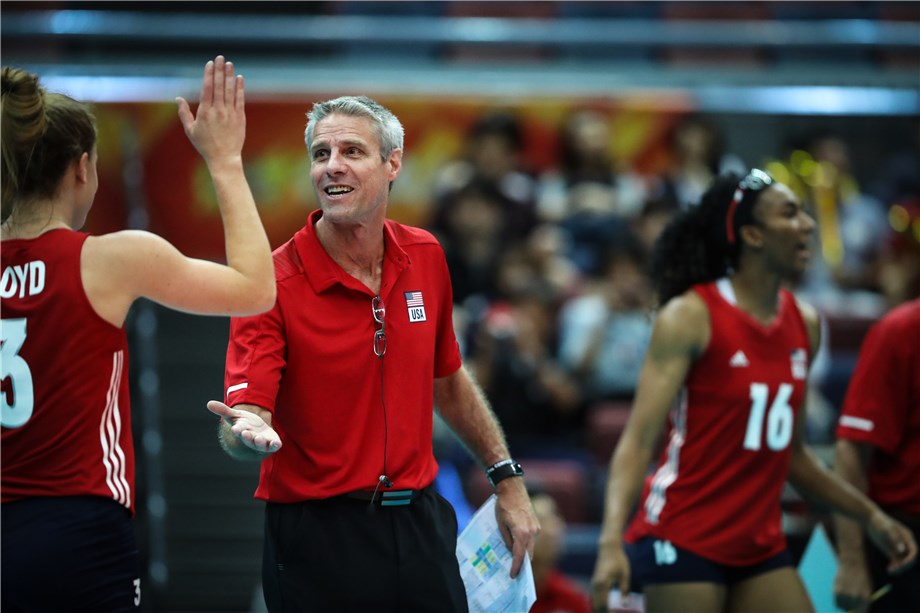 karch kiraly Usa coach karch kiraly: we came here to make history and we made itit was a tough battle i would like to congratulate lang ping and her team they played a marvelous tournament.