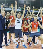 We've done it... the USA side are delighted as they win their nation's second-only World League Finals gold medal
