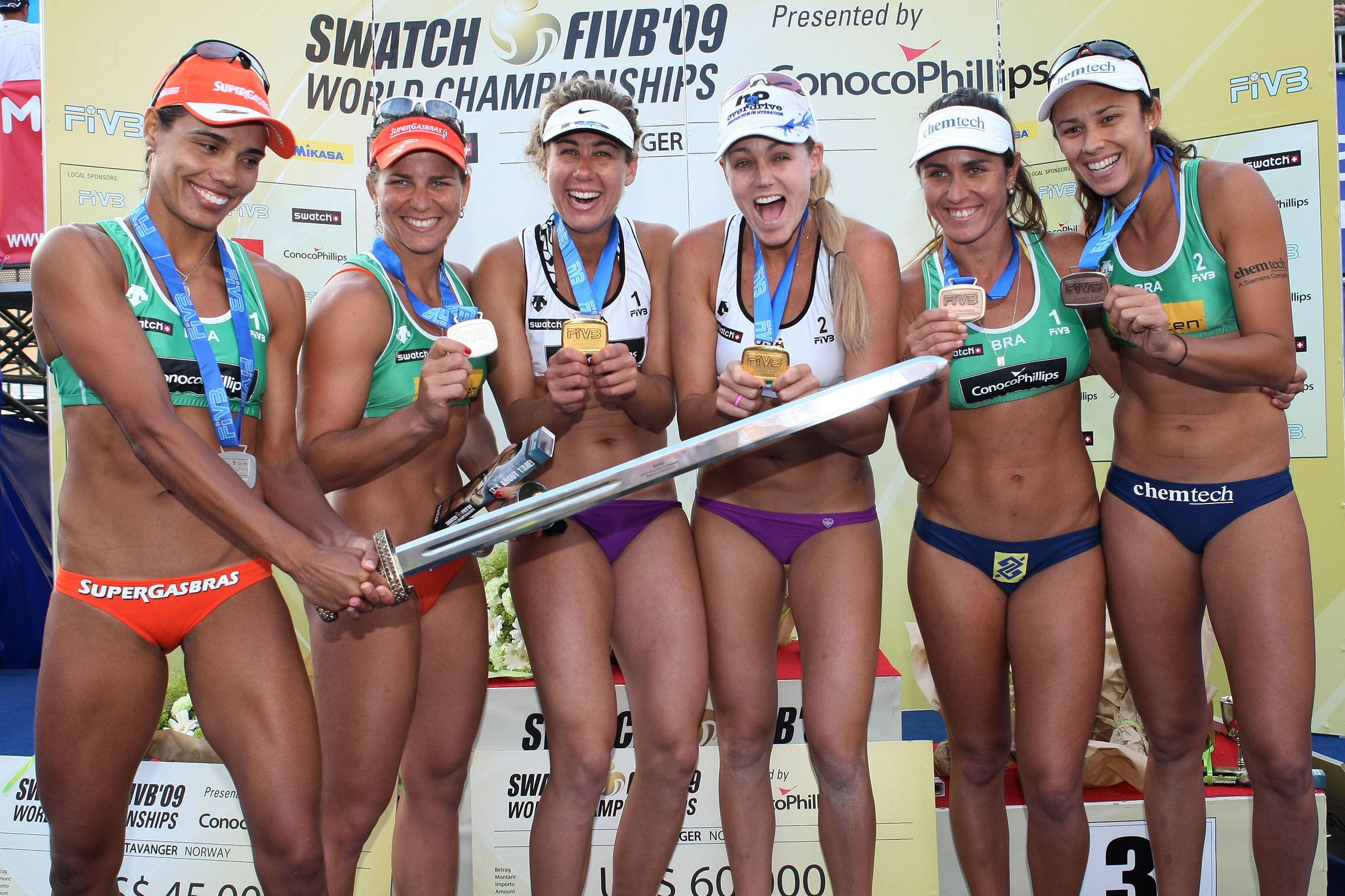 Former champs lead outstanding women's field to 2011 FIVB Swatch