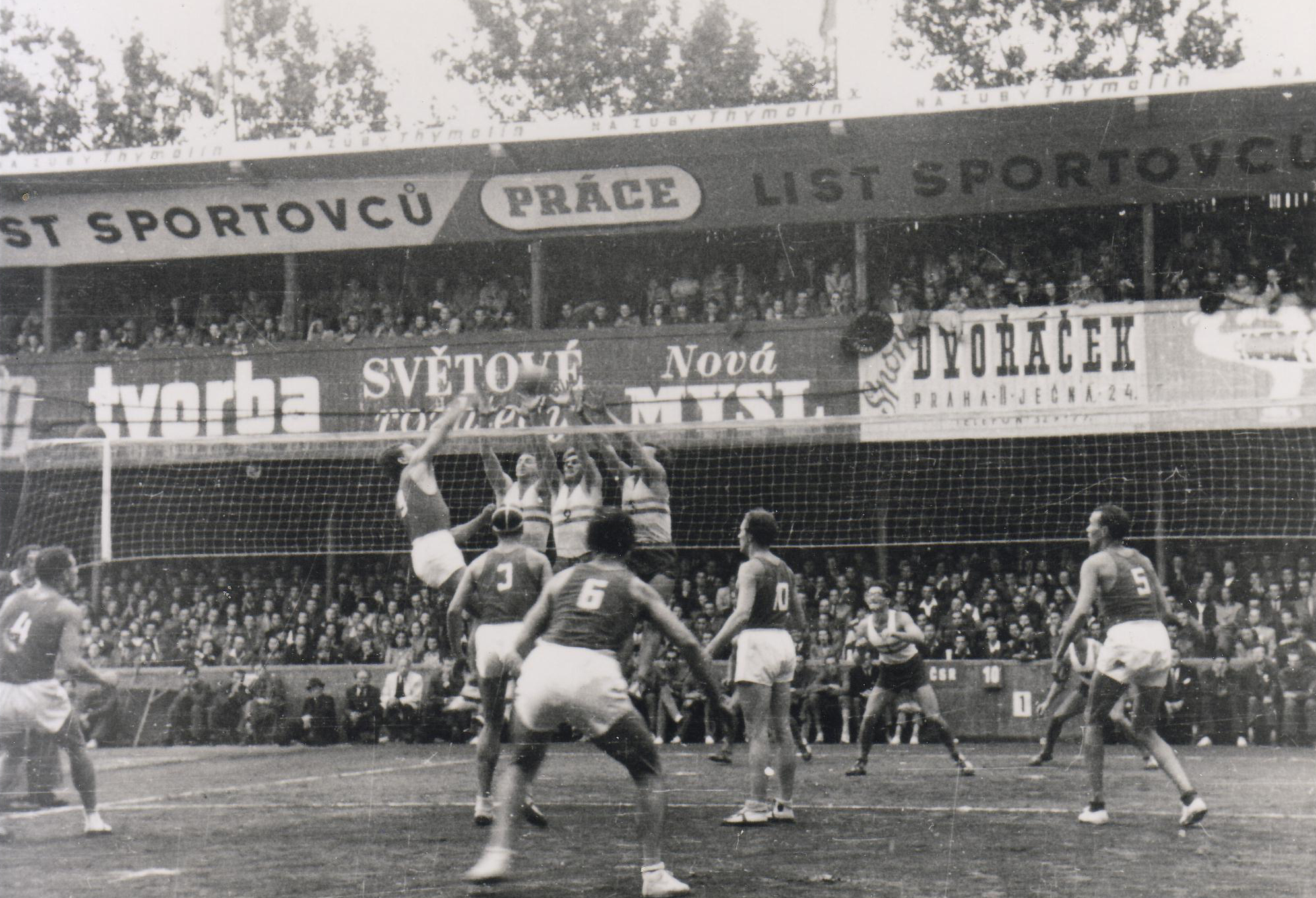 The Inaugural FIVB Volleyball World Championships were held in  Czechoslovakia, in 1949.