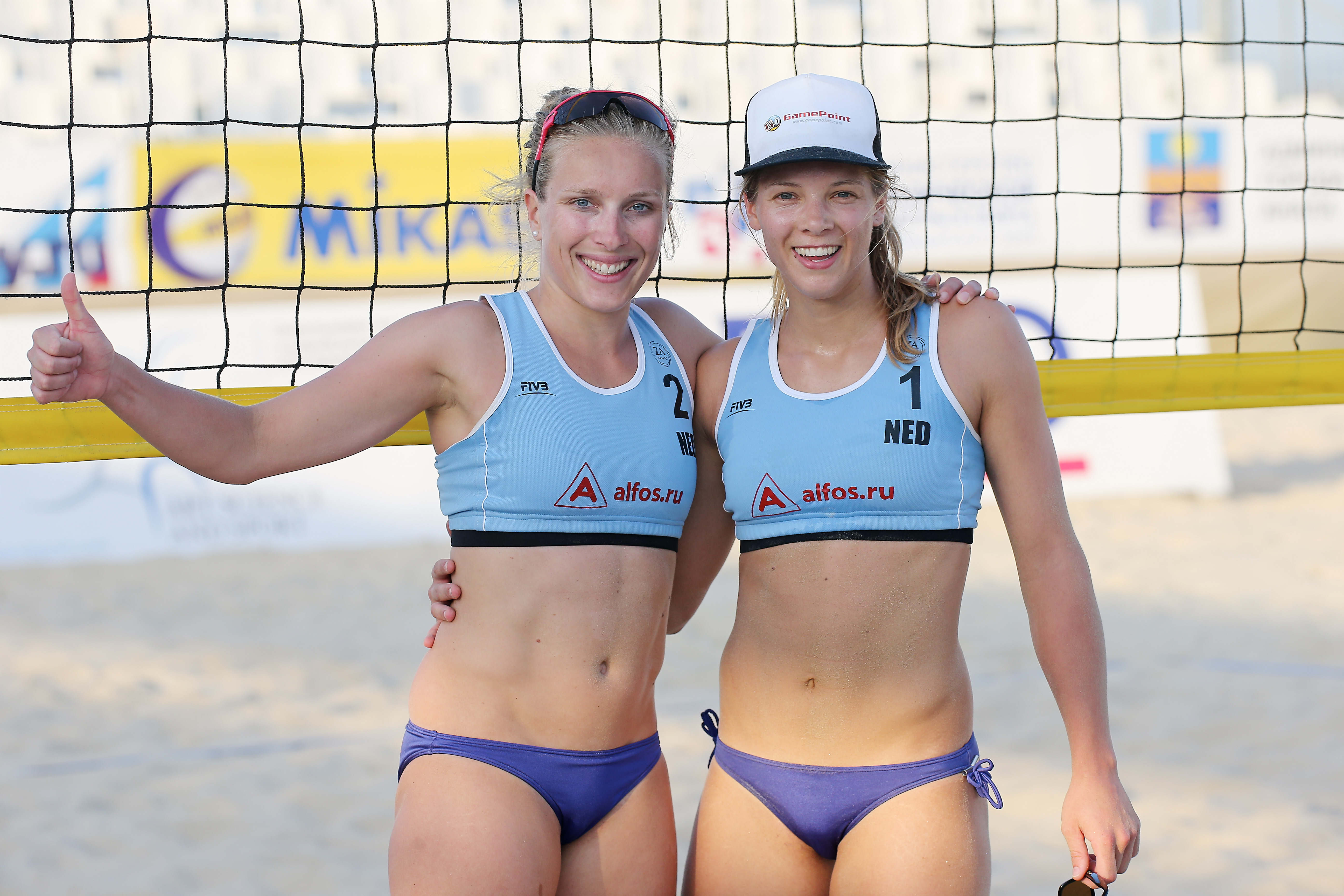 Sand volleyball female players of dating 3