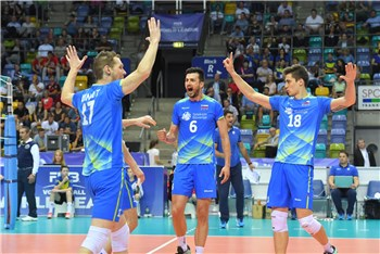 73005f0ceb Slovenia celebrates World League Group 3 success