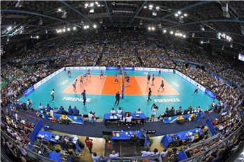 fb697e6c9a Sellout home crowd in Florence enjoys co-hosts Italy in their win over  Slovenia. Now fans in Milan will get the chance to cheer on Italy