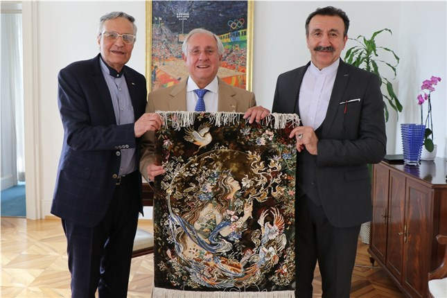Image result for grasso volleyball president fivb
