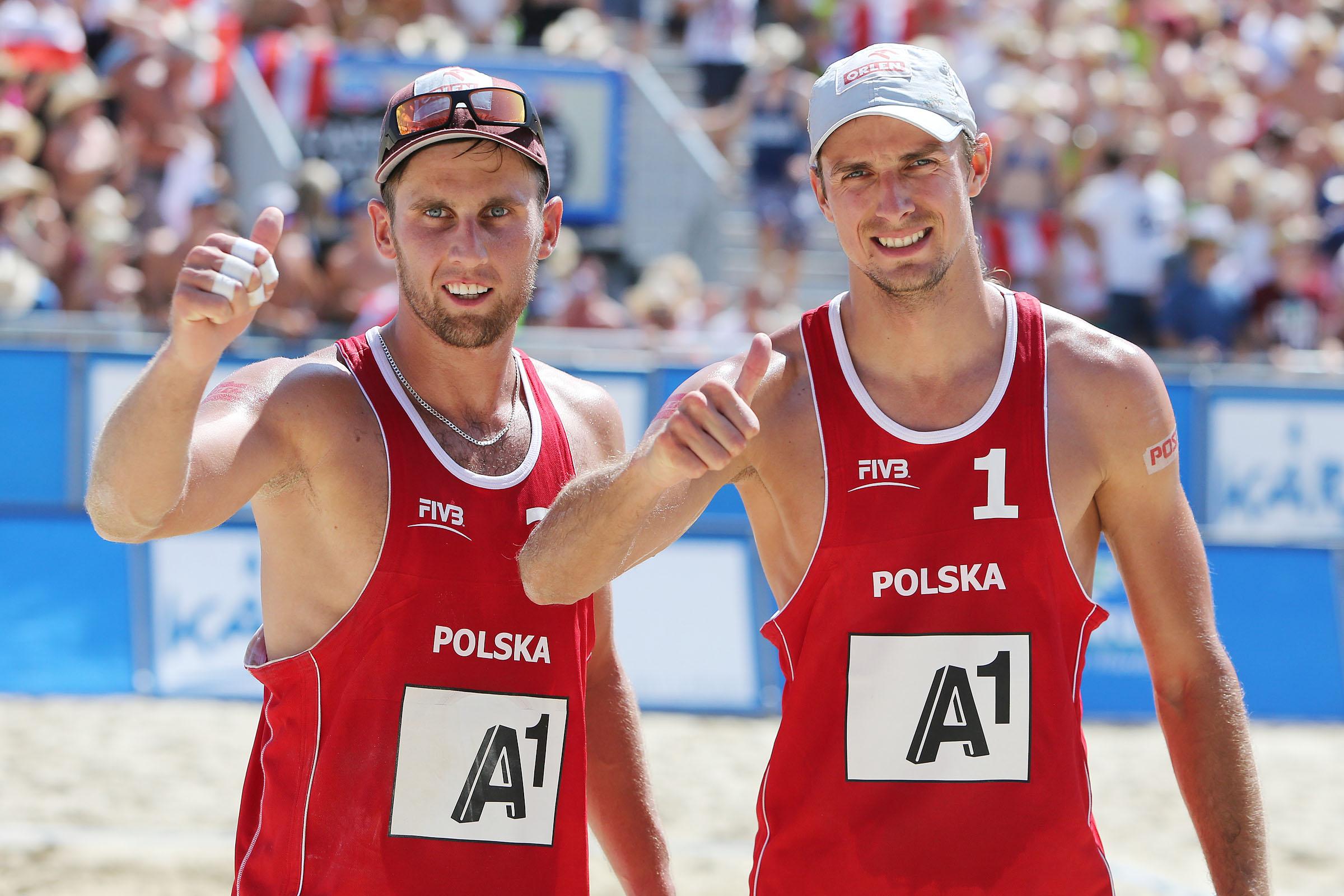 Mariusz Prudel and Grzegorz Fijalek