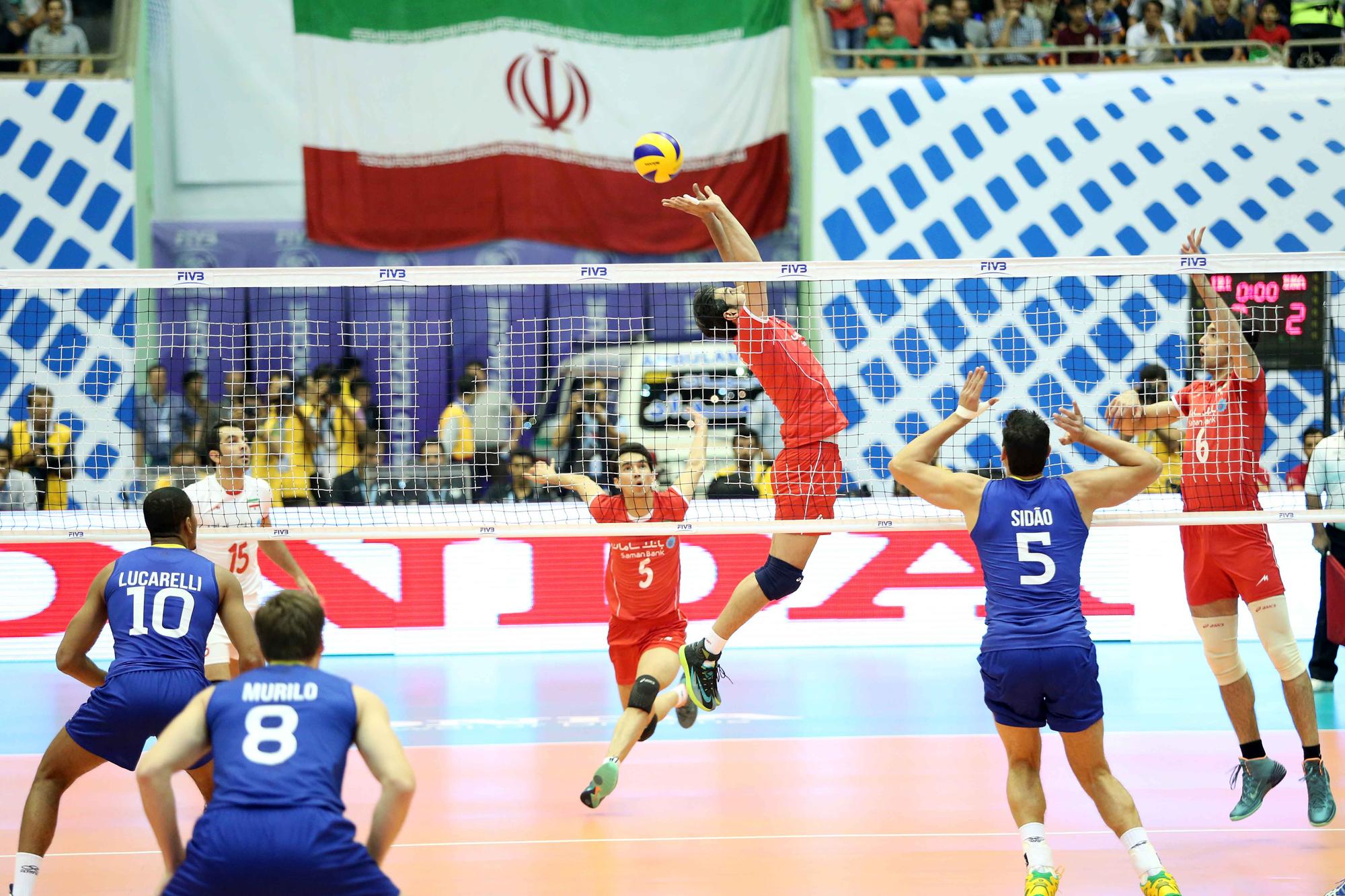 volleyball world league 2014 - i.r.i