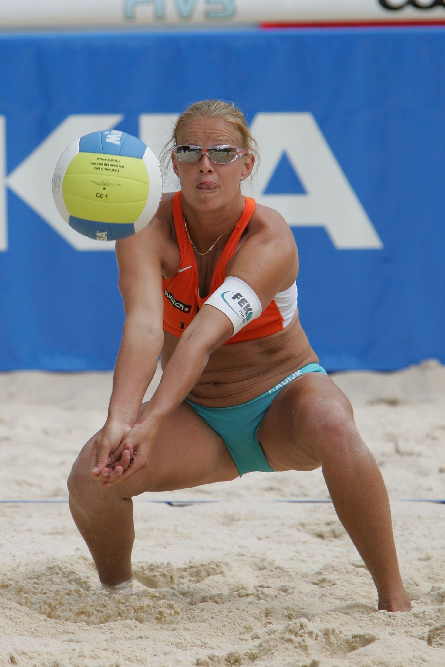 Something Nudes beach volleyball women slips