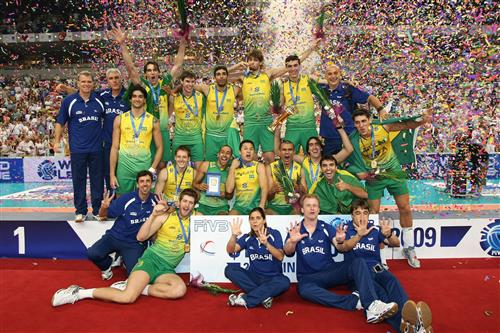 Brazil topped the 2009 World League podium for the 8th time