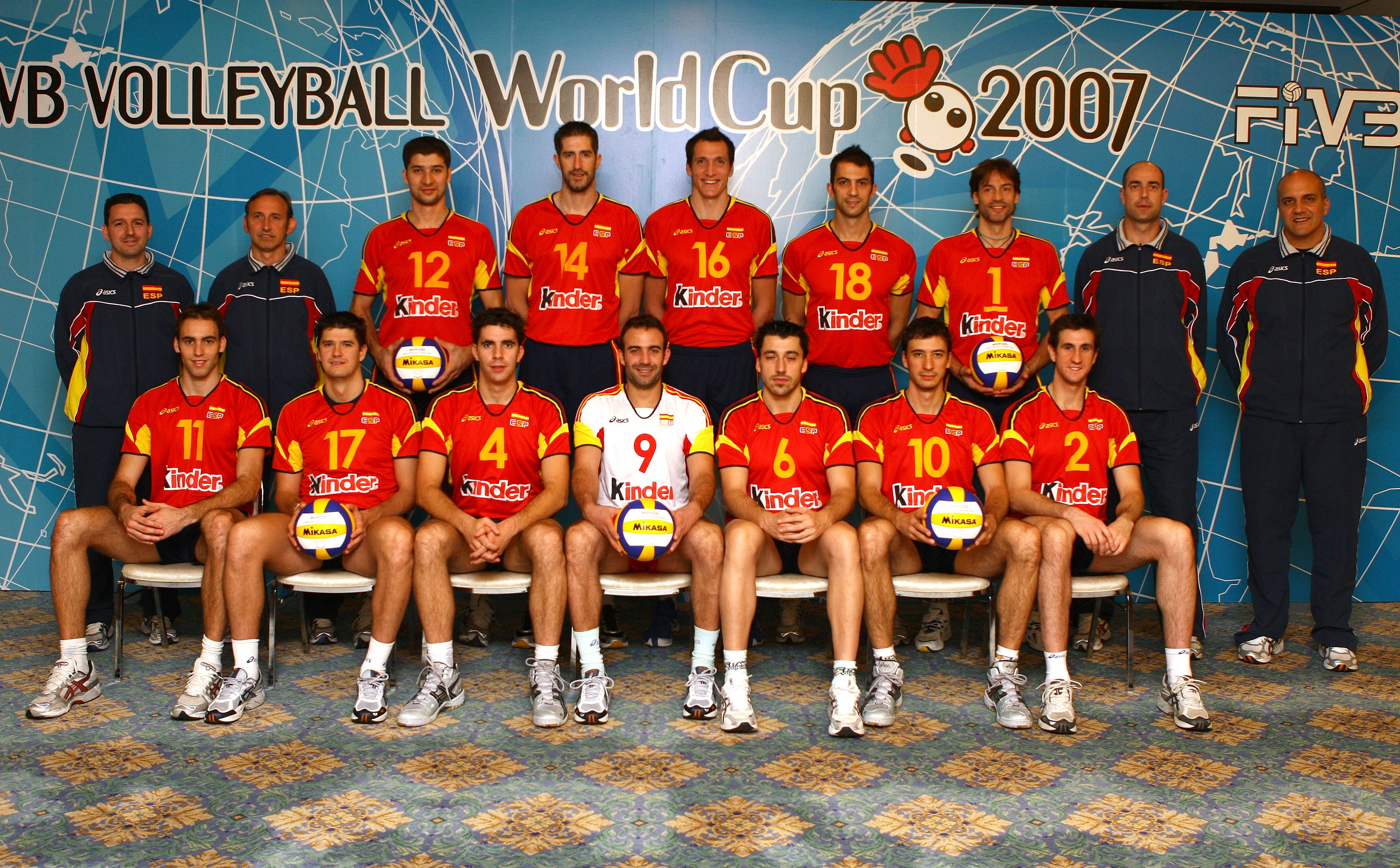 2007 Men S World Cup Team Roster Esp