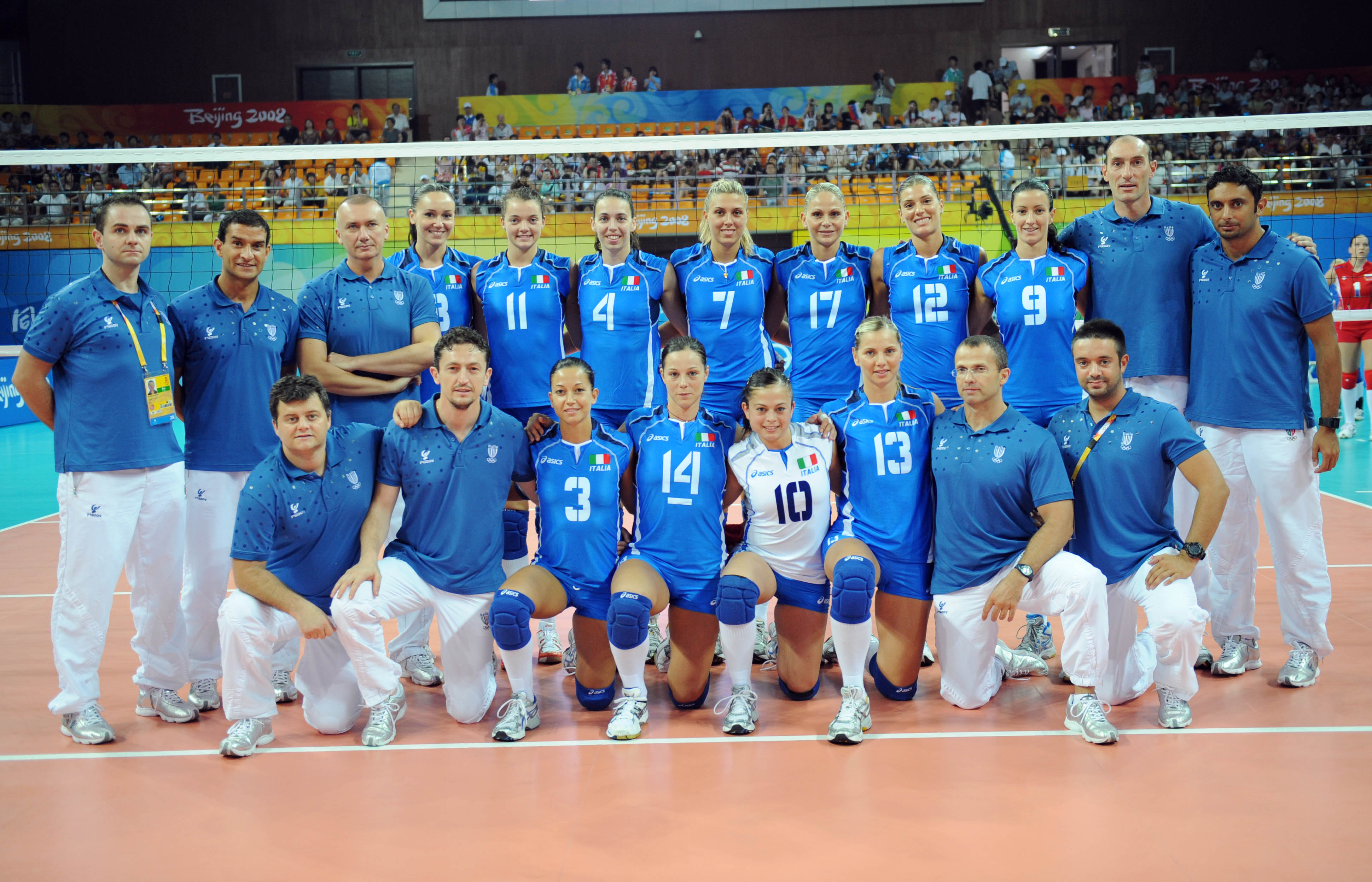 Fivb 2008 Women S Volleyball Olympic Games