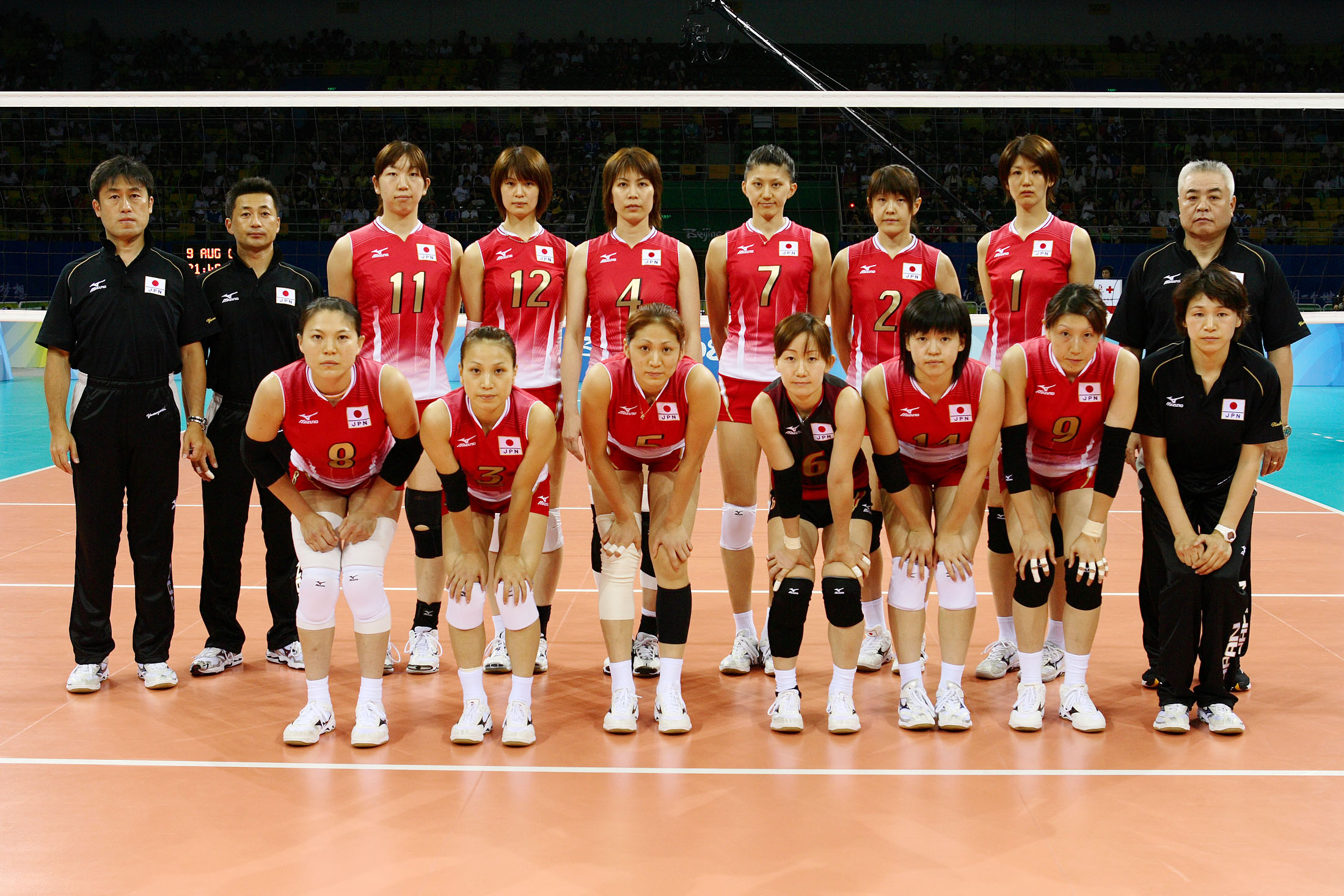 2008 Women S Olympic Games Team Roster Jpn