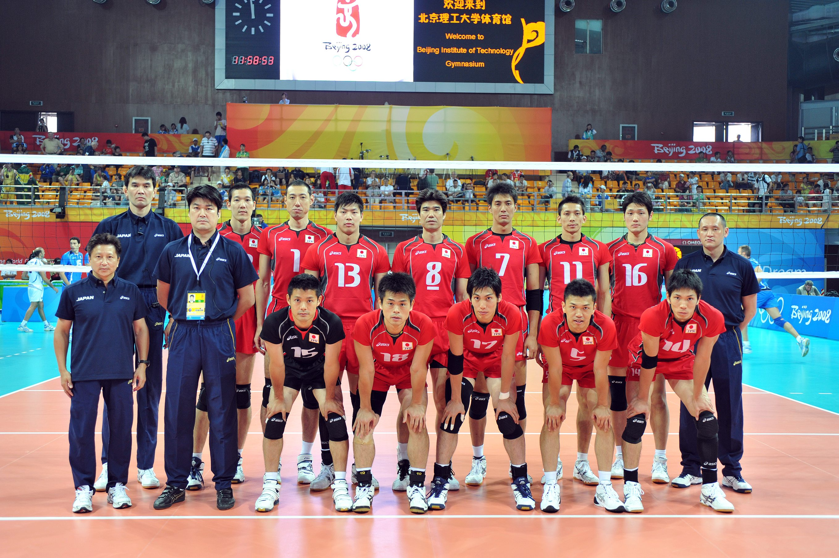 2008 Men S Olympic Games Team Roster Jpn