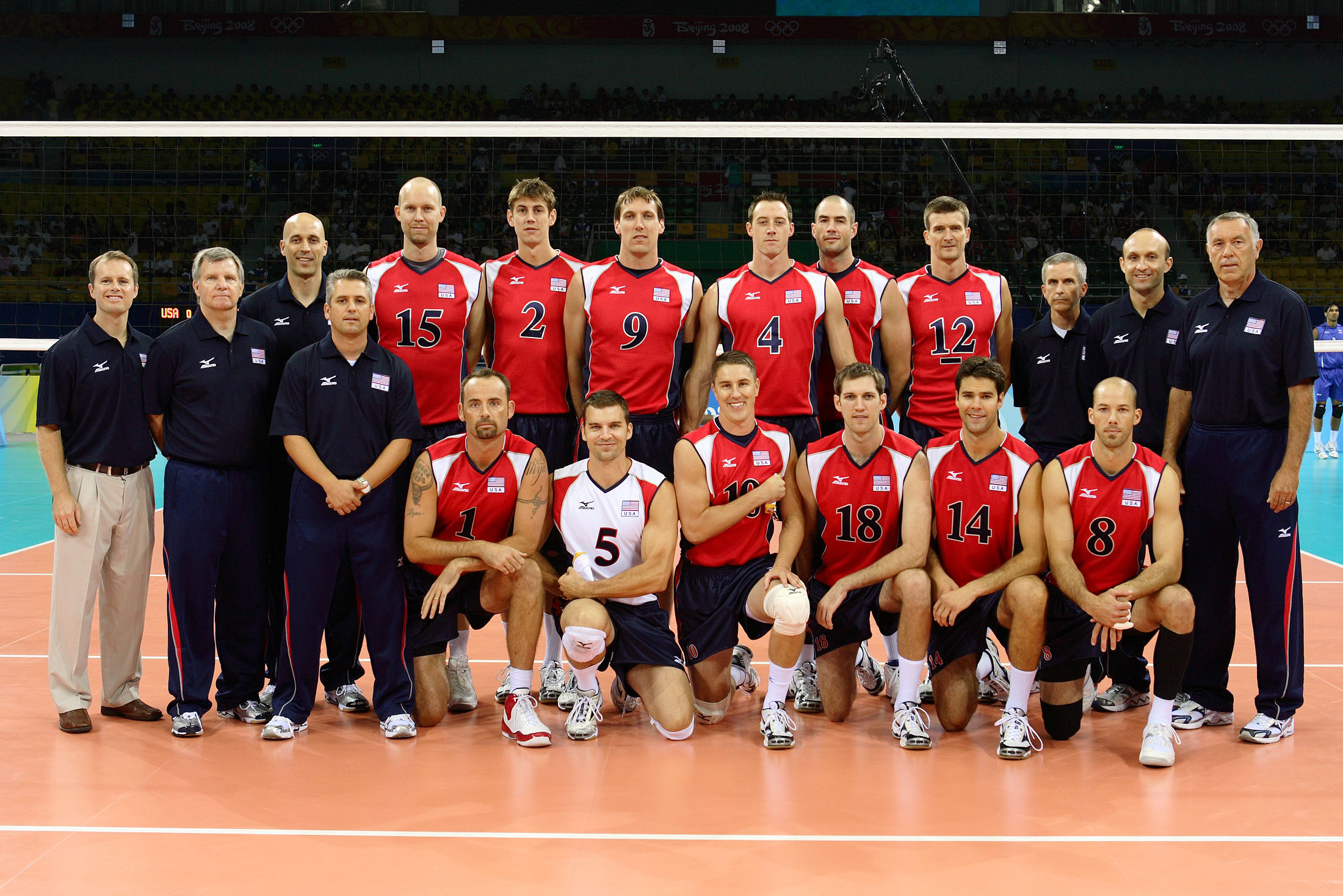 2008 Men S Olympic Games Team Roster Usa