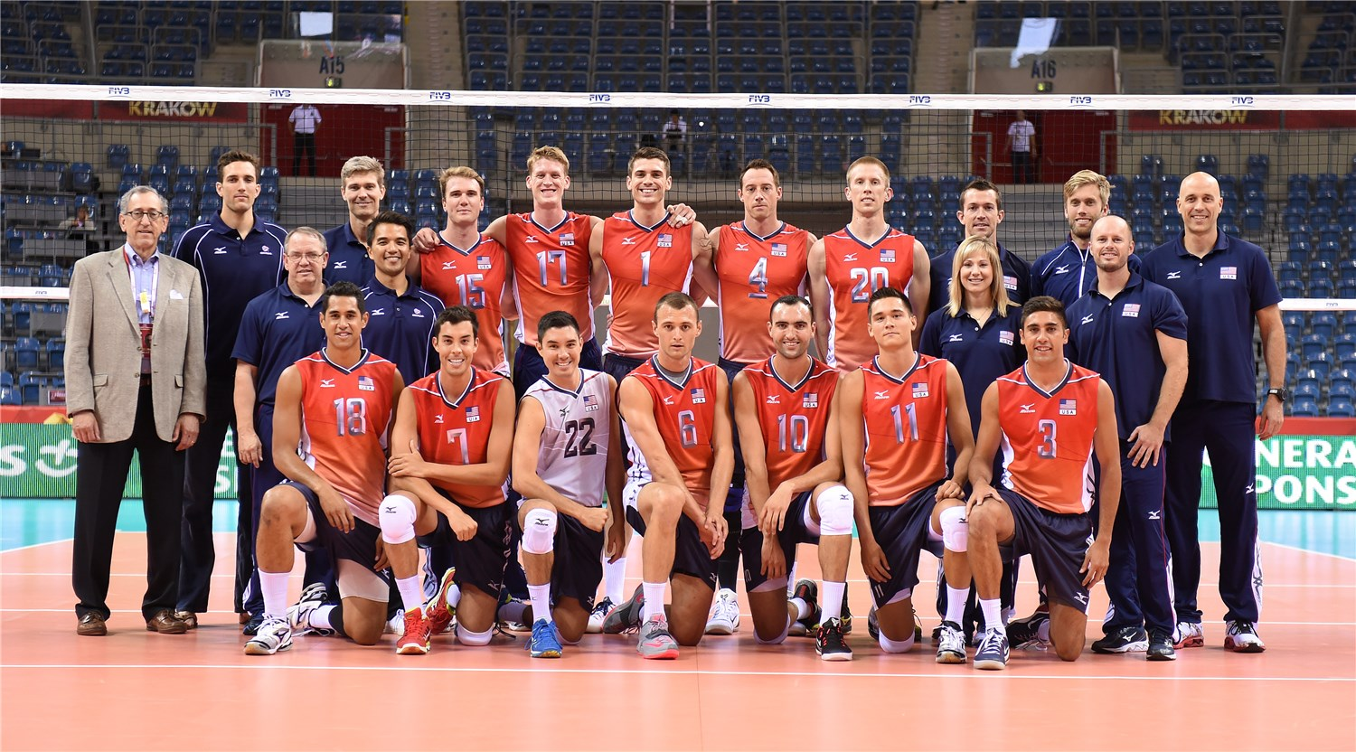 Overview Usa Fivb Volleyball Men S World Championship Poland 2014
