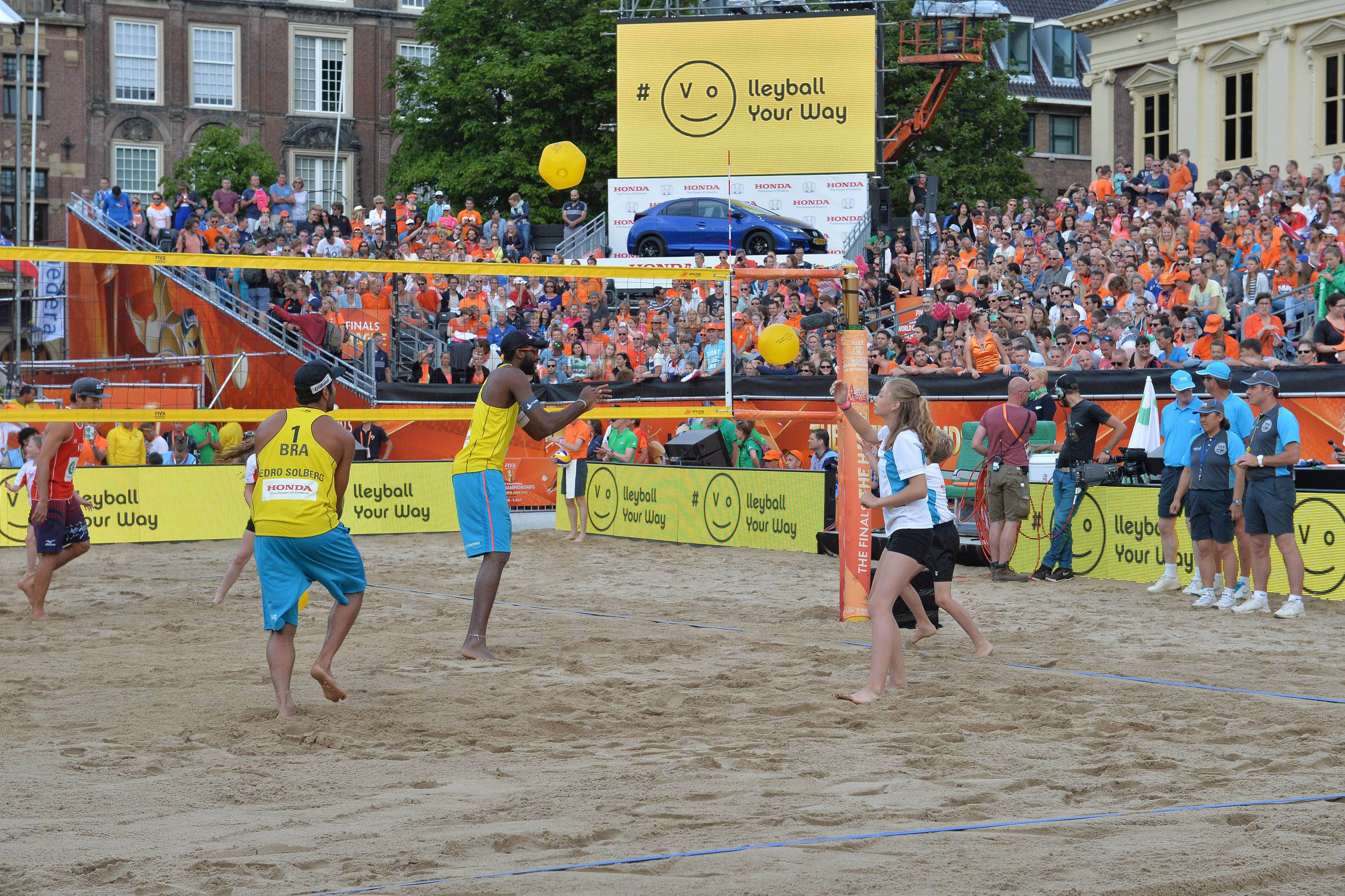 FIVB Beach Volleyball World Championship The Netherlands 2015