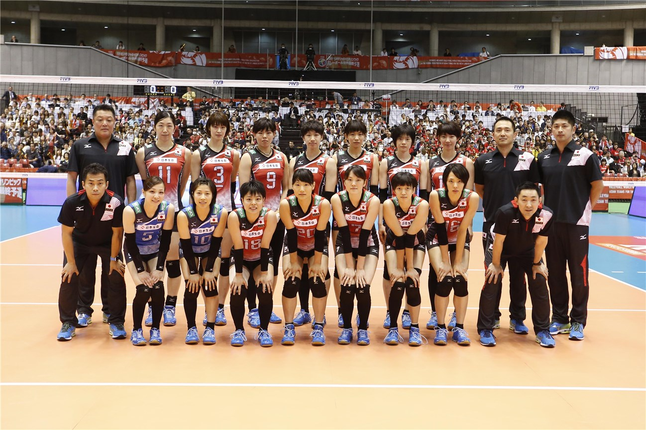 Overview Japan Women S World Olympic Qualification Tournament 2016
