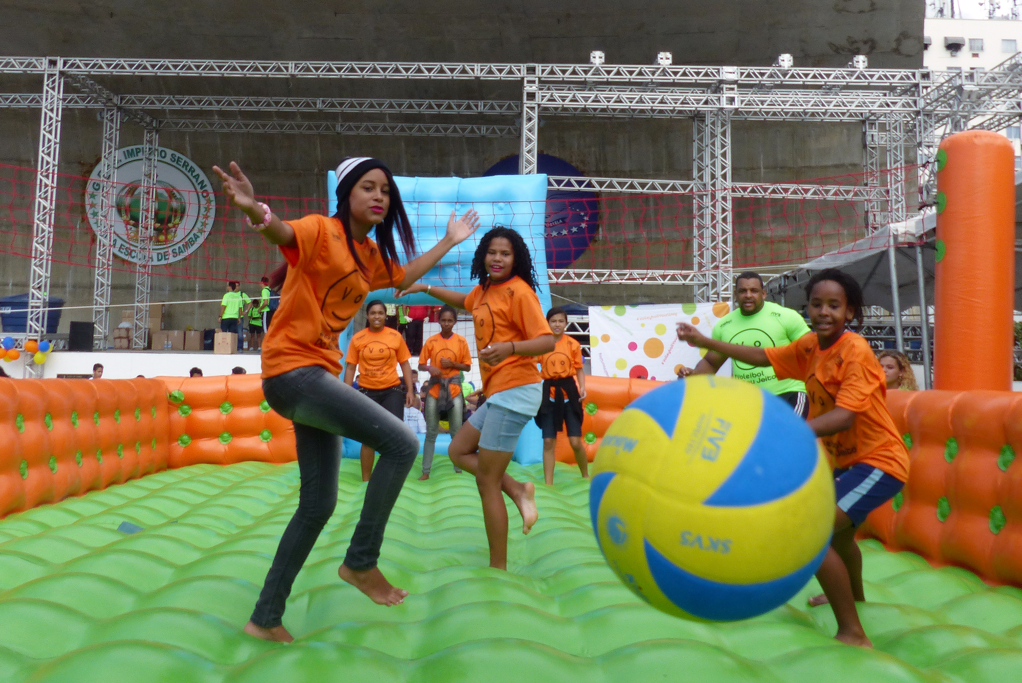 News FIVB stages Volleyball Your Way Festival in Rio