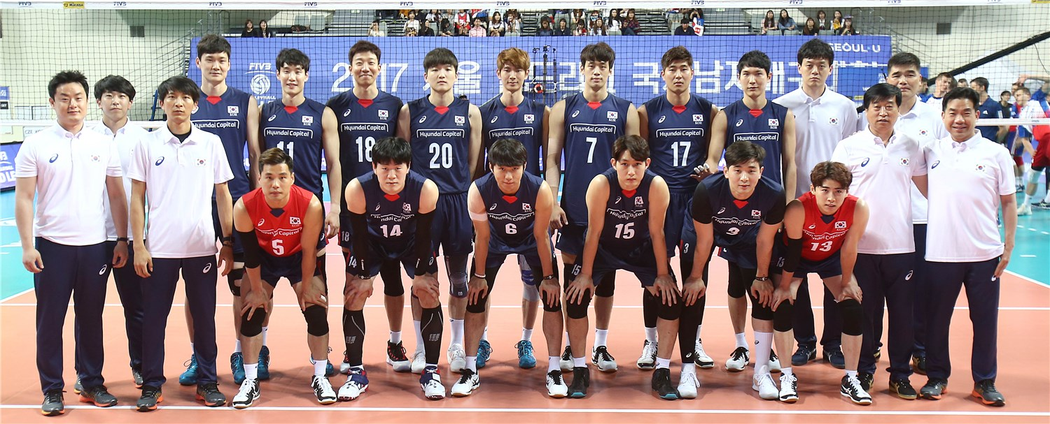 Overview Korea Fivb Volleyball World League 2017