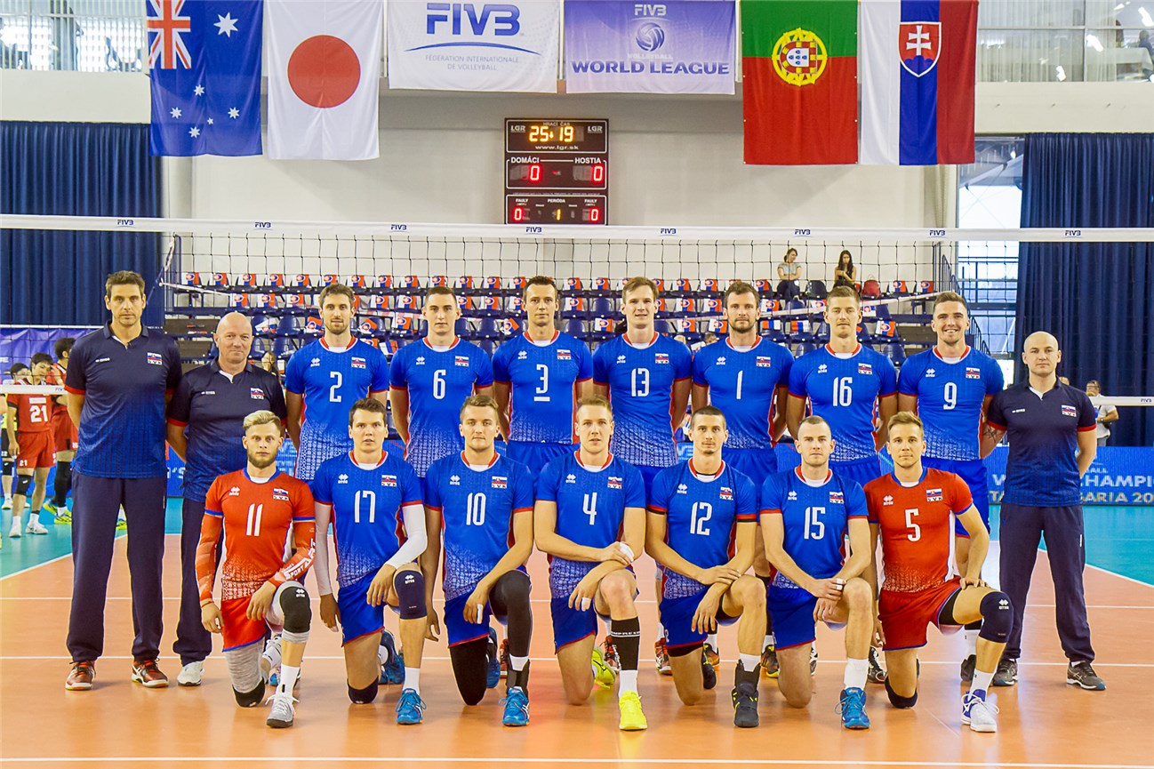 Overview Slovakia Fivb Volleyball World League 2017