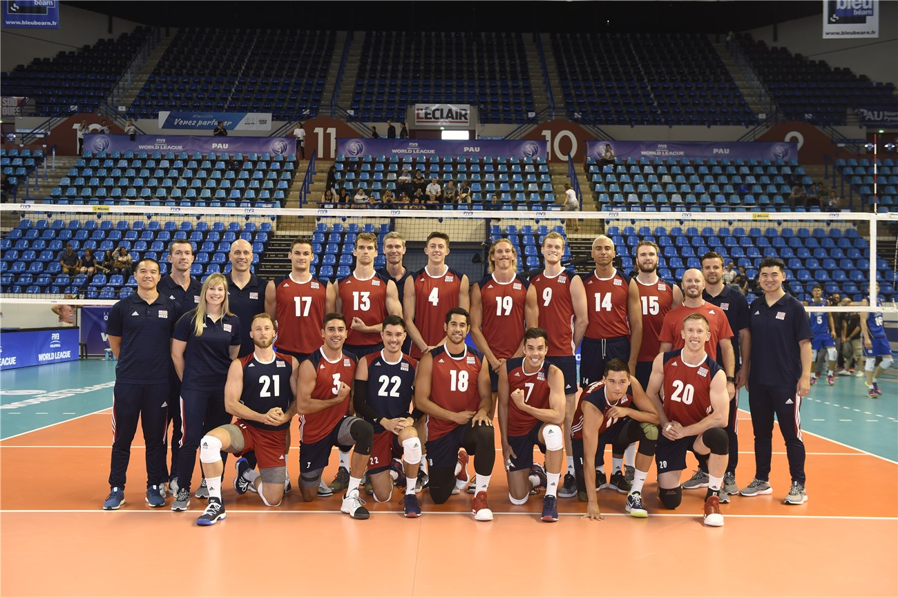Overview Usa Fivb Volleyball World League 2017
