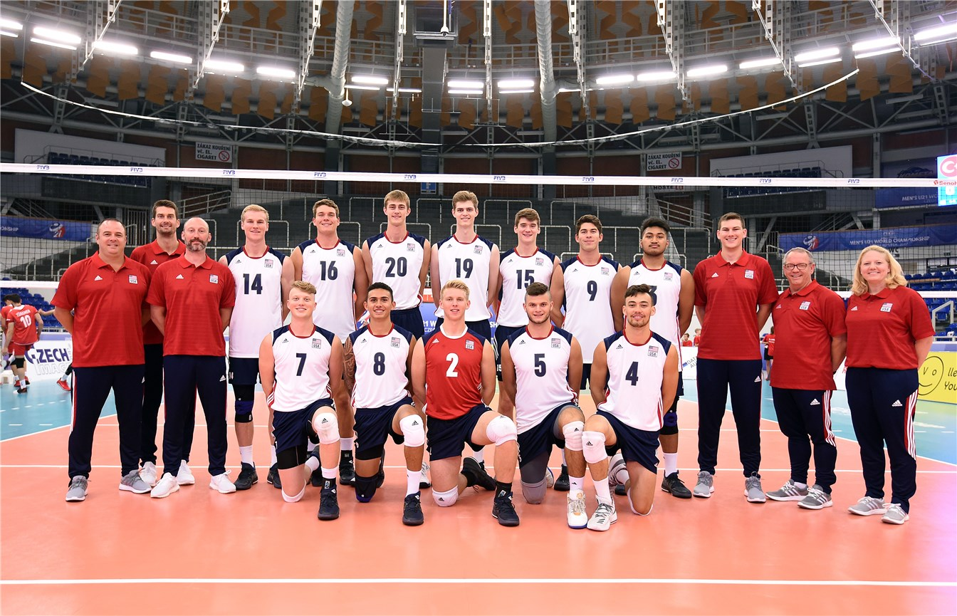 Overview Usa Fivb Volleyball Men S U21 World Championship 2017