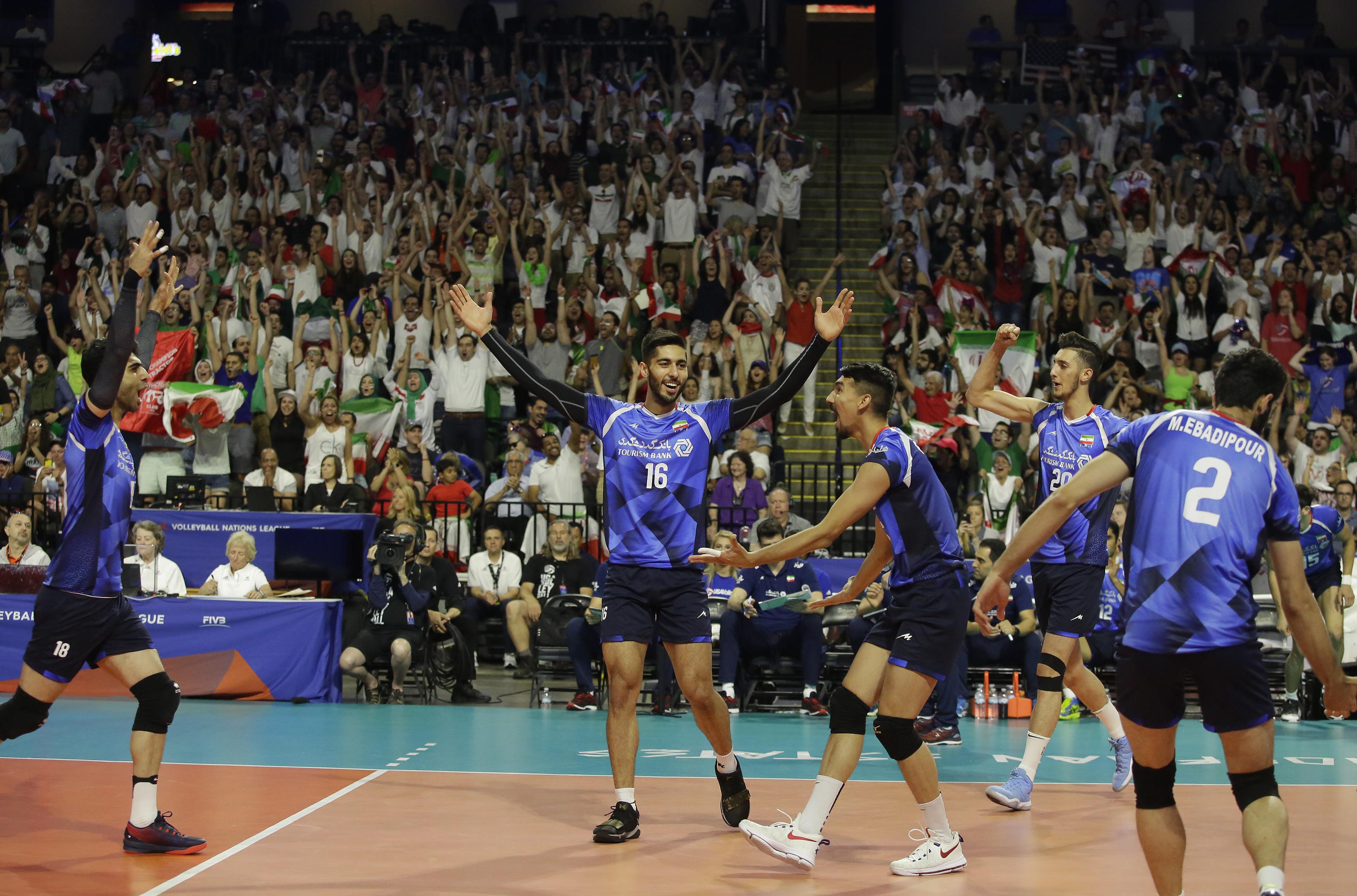 شکست ایران در آخرین دیدار هفته چهارم