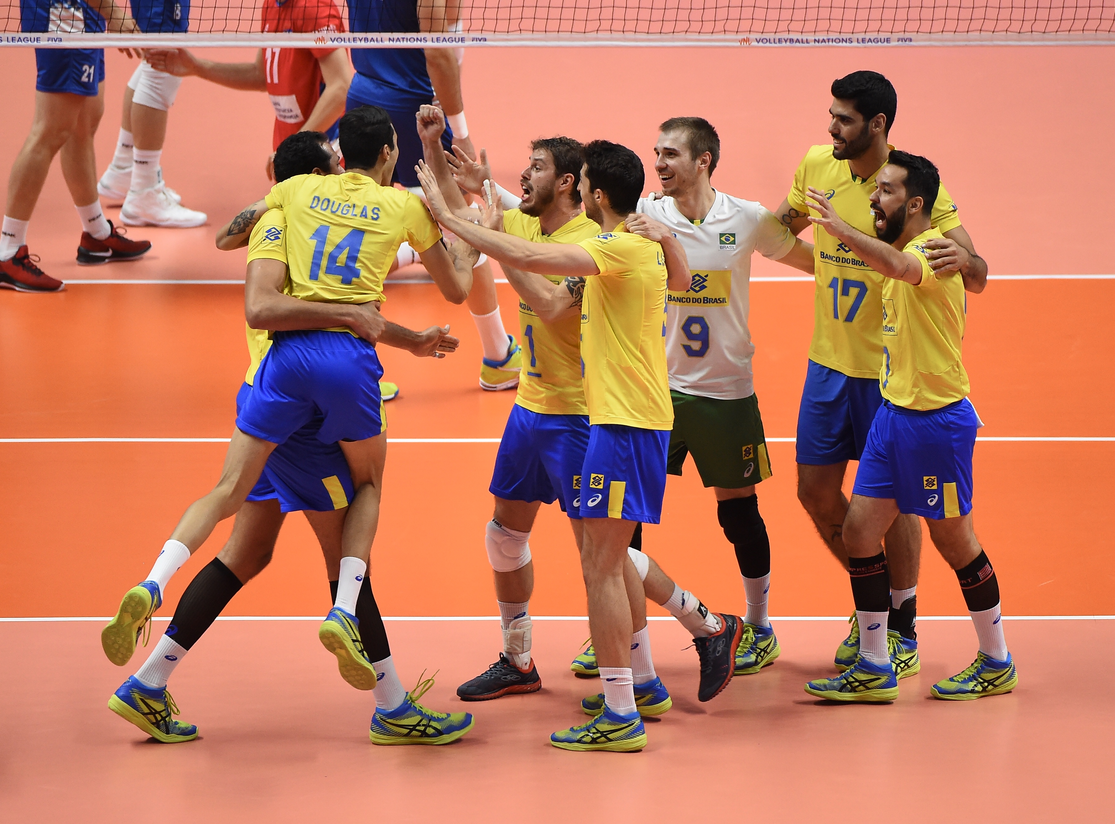 Brasil bate a Sérvia - Getty Images