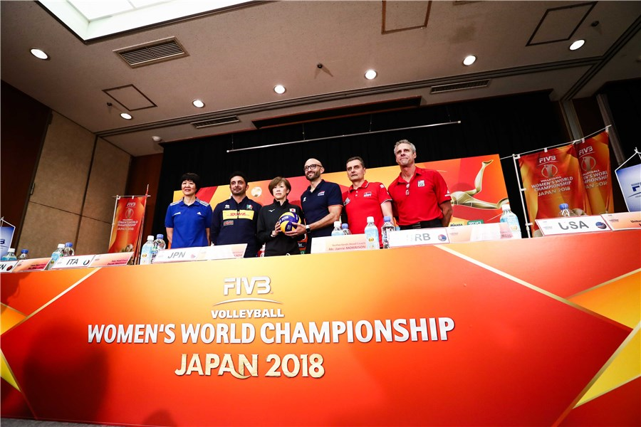 Calendario Final Six Volley.Fivb Volleyball Women S World Championship Japan 2018