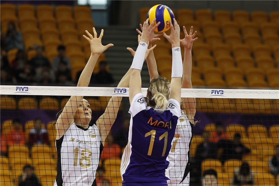 Post-Match - VakifBank Istanbul (TUR)-Volero Le Cannet (FRA) - FIVB