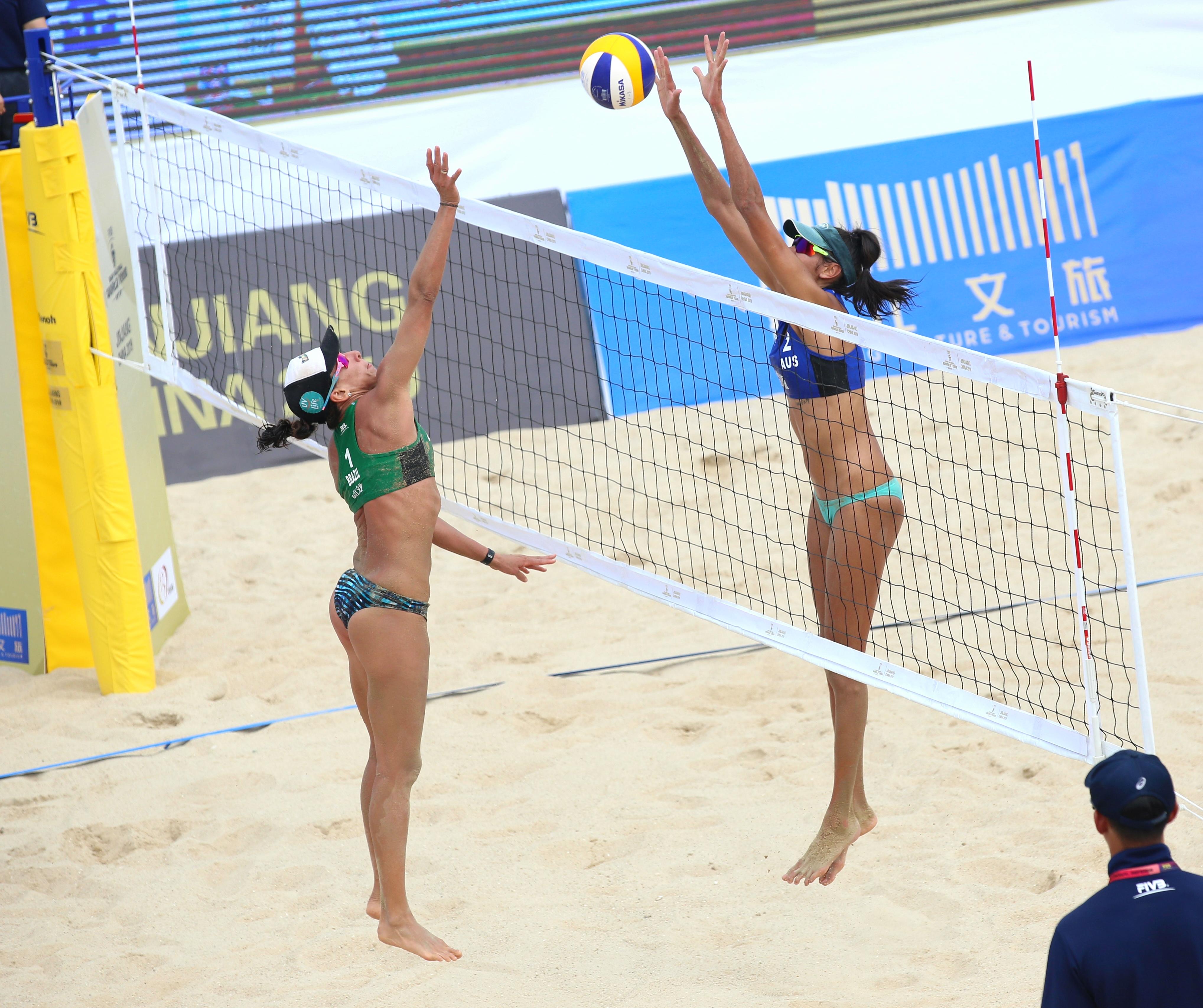 News - Clancy & Artacho face Ana Patricia & Rebecca in Jinjiang semifinal