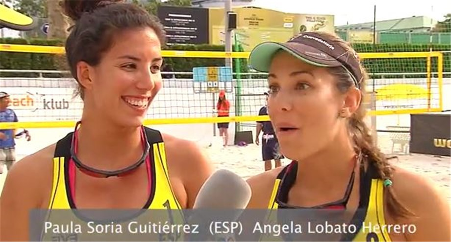 Videos Spain S Soria And Lobato Talk About Upsetting Top Ranked Canadians With Action