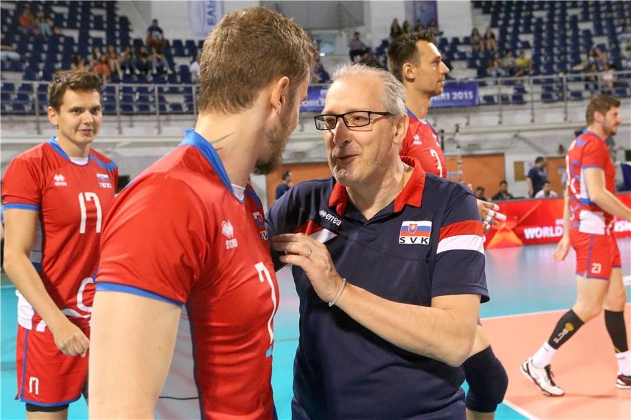 News - Slovakia's coach Gulinelli: