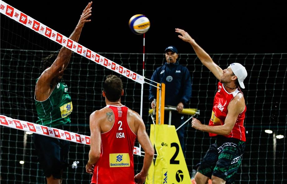 News - American men place three teams in Rio Open quarter-finals