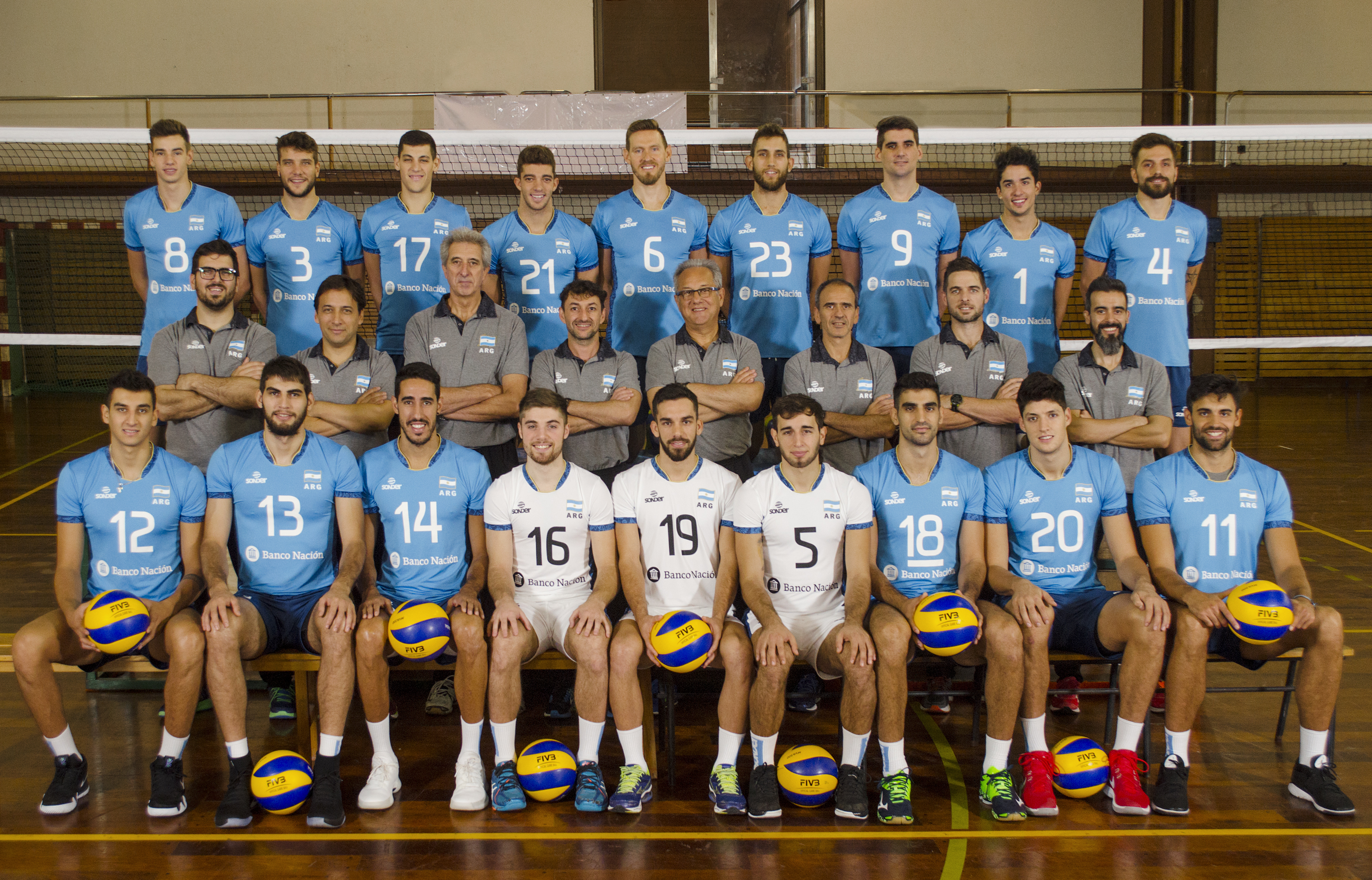 Fivb Volleyball Nations League 2018 Men S Teams Overview Argentina