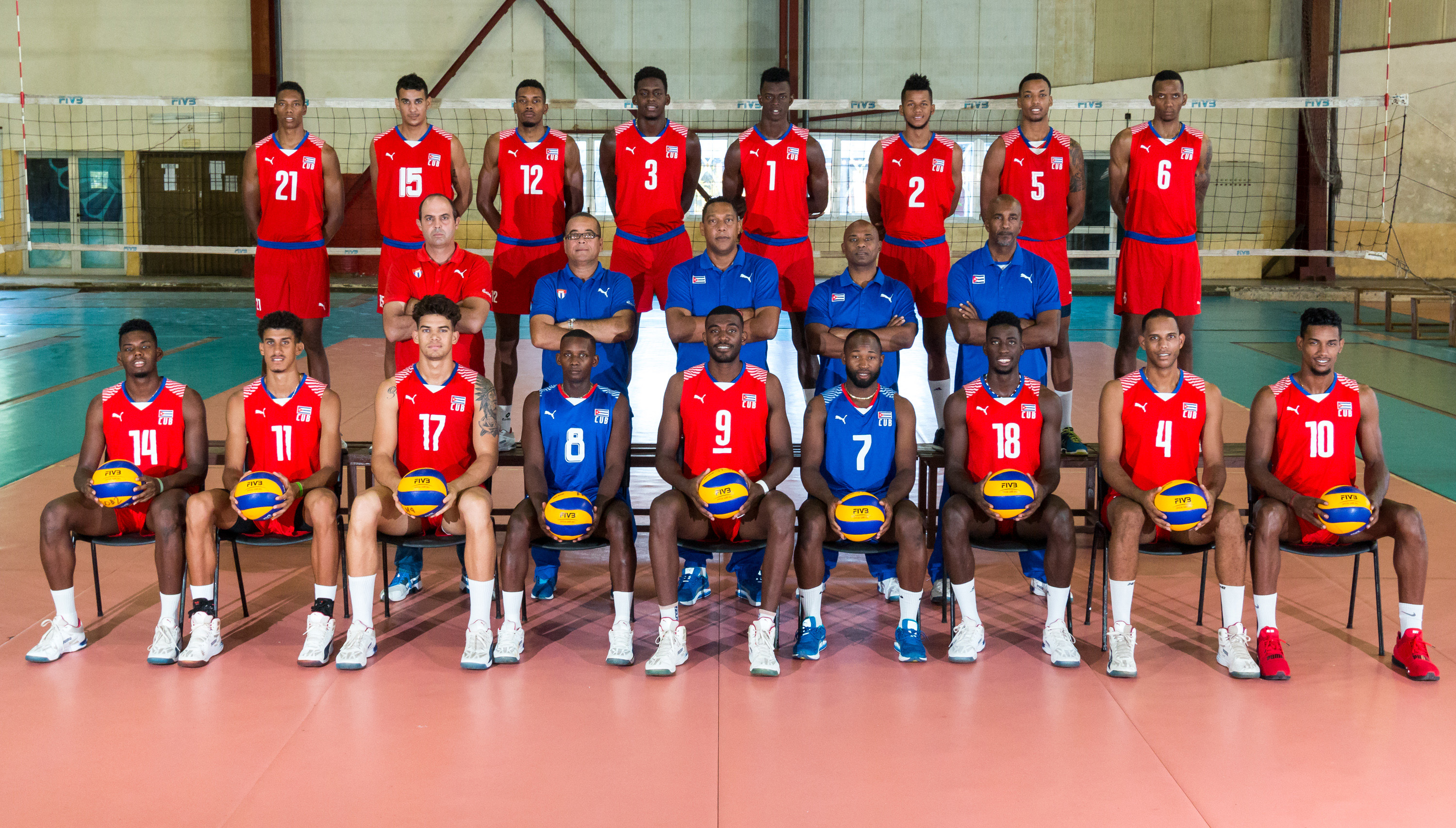 Overview Cuba Fivb Volleyball Men S World Championship Italy And Bulgaria 2018