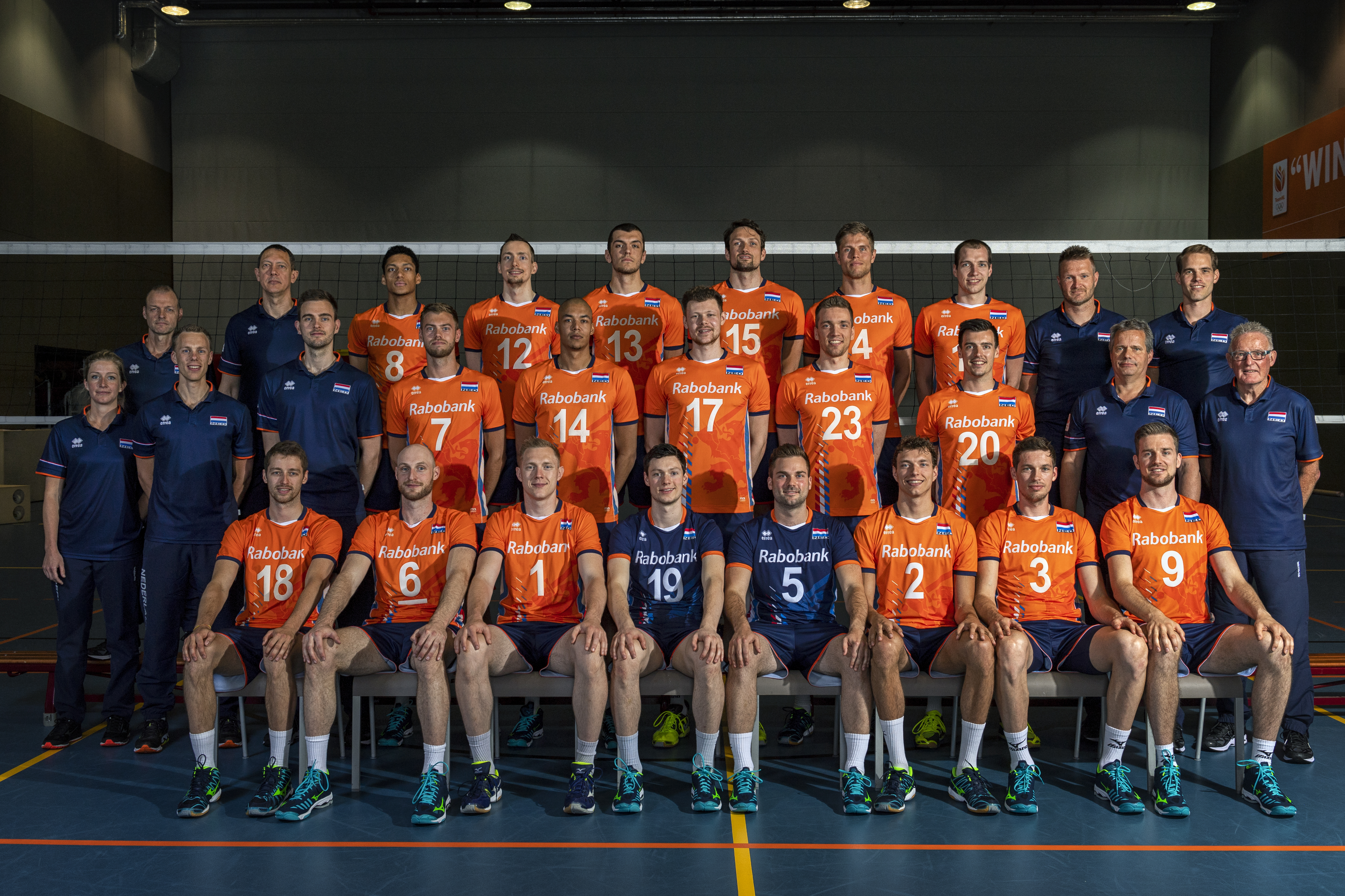 Overview Netherlands Fivb Volleyball Men S World Championship Italy And Bulgaria 2018