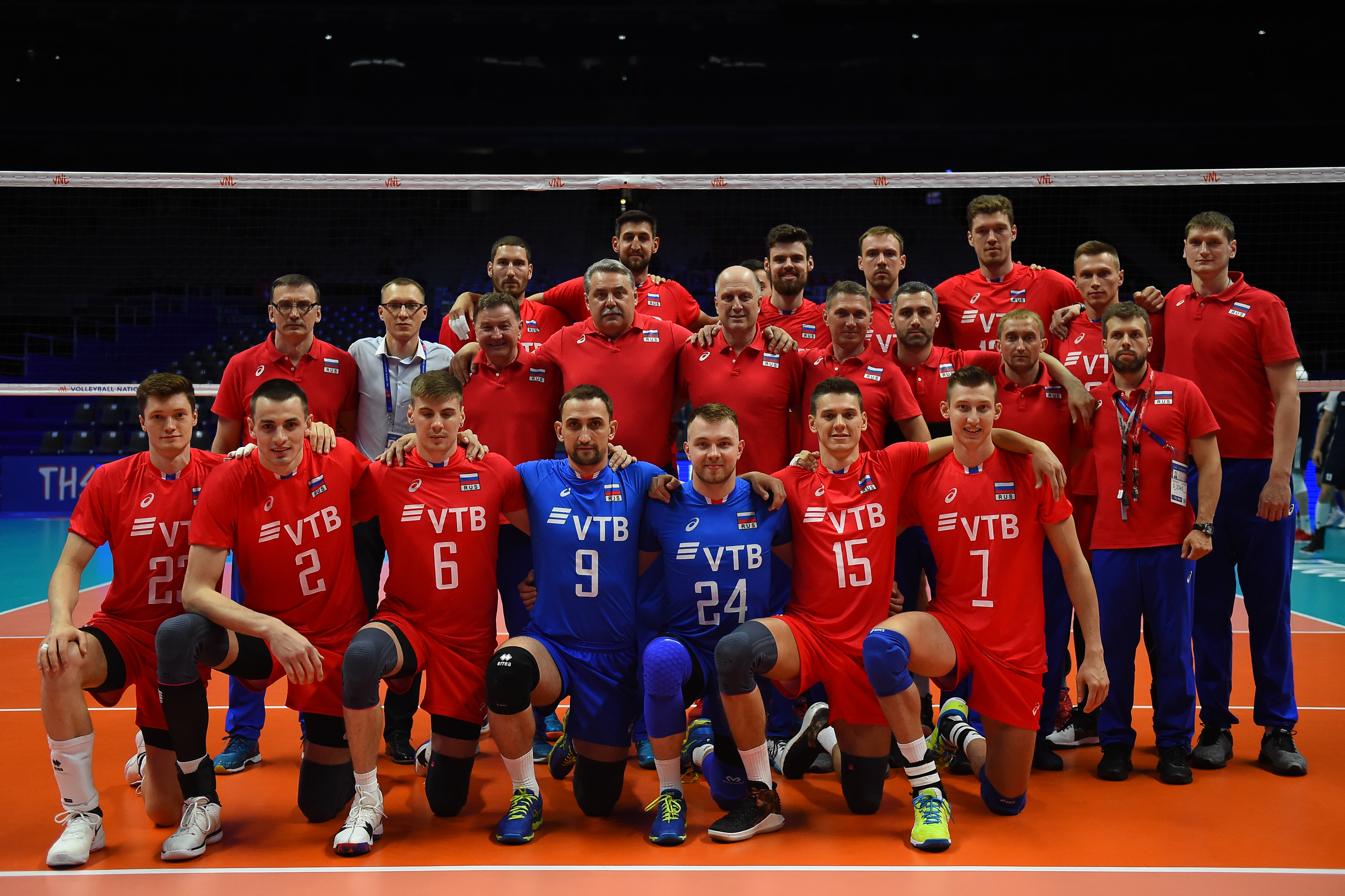 Overview Russia Fivb Volleyball Men S World Championship Italy And Bulgaria 2018