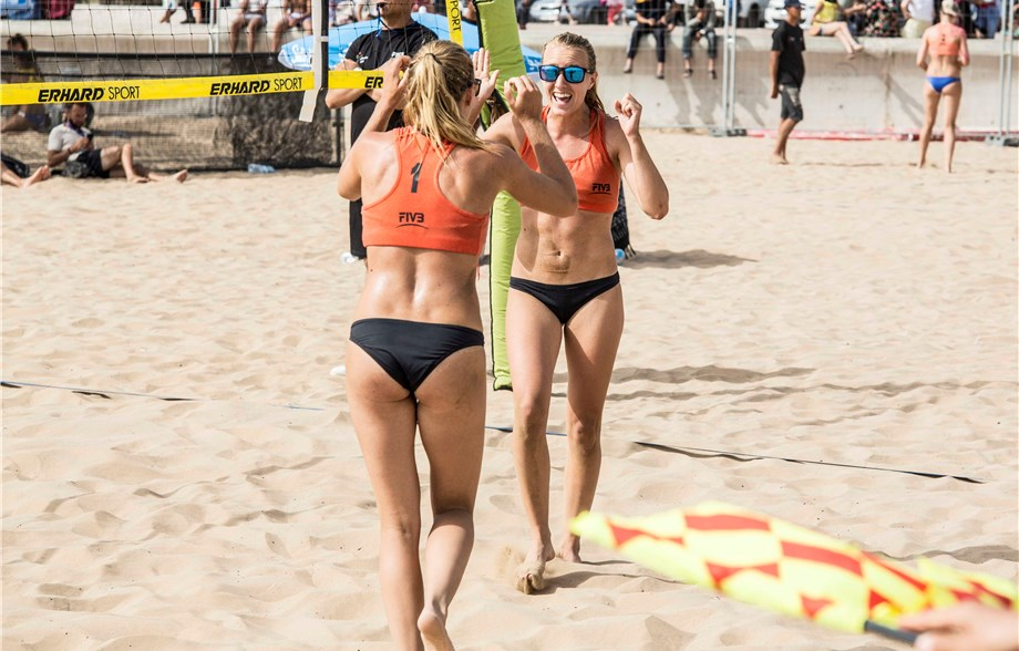 ... 2018 – Two Swedish teams are among the six that won their pools in the  women's main draw at the Agadir two-star event on the FIVB Beach Volleyball  ...
