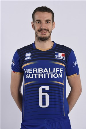 player benjamin toniutti fivb volleyball men 39 s world championship italy and bulgaria 2018. Black Bedroom Furniture Sets. Home Design Ideas