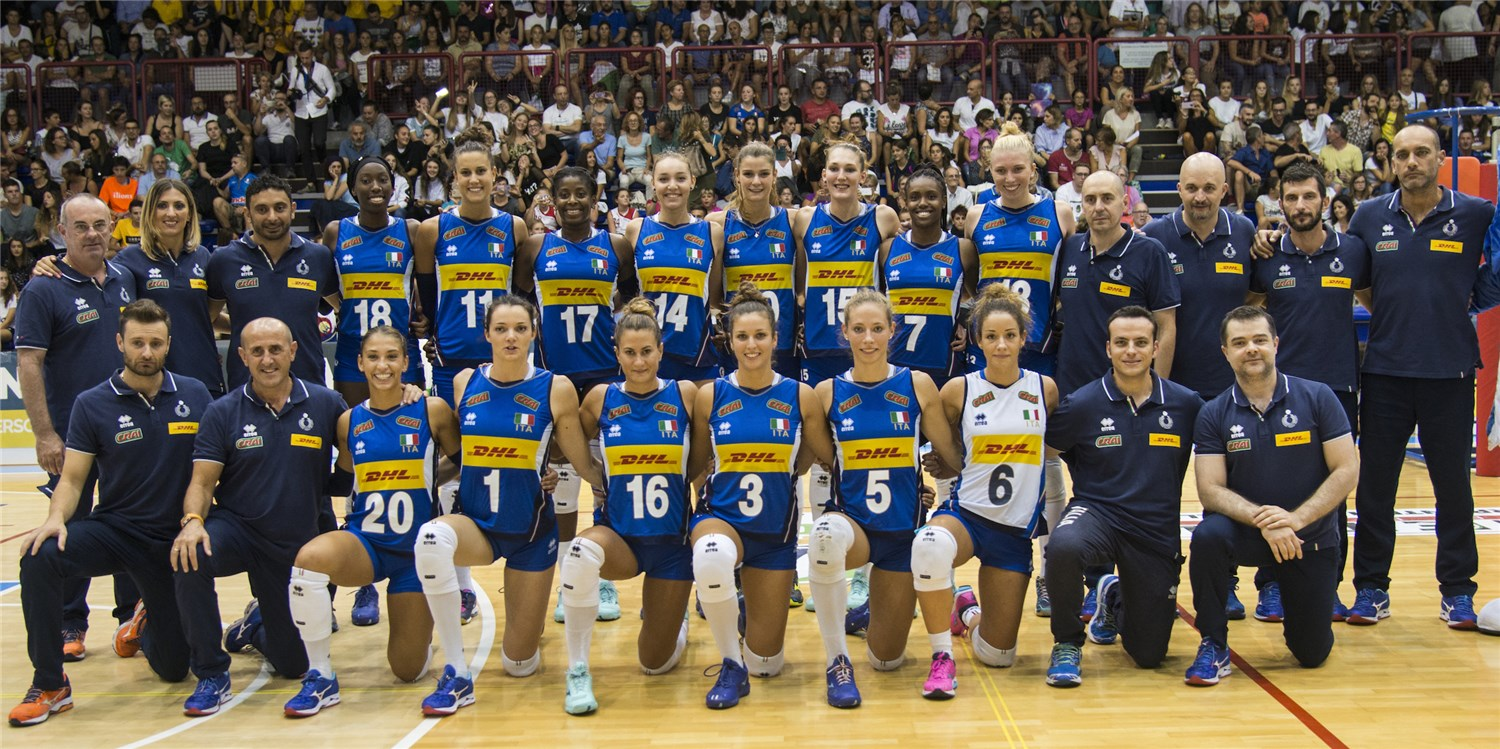 Overview Italy Fivb Volleyball Women S World Championship Japan 2018
