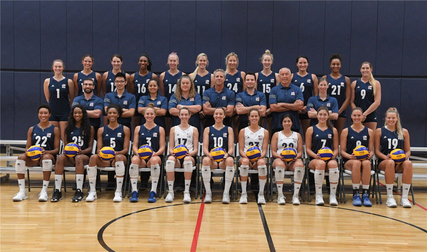 Usa Women S Volleyball Roster 2018