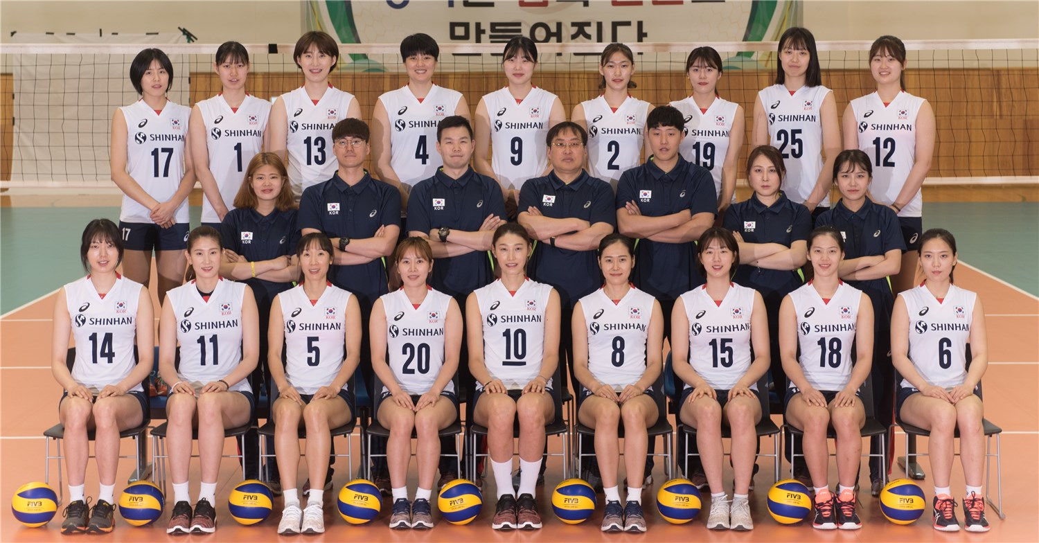 Overview Korea Fivb Volleyball Women S World Championship Japan 2018