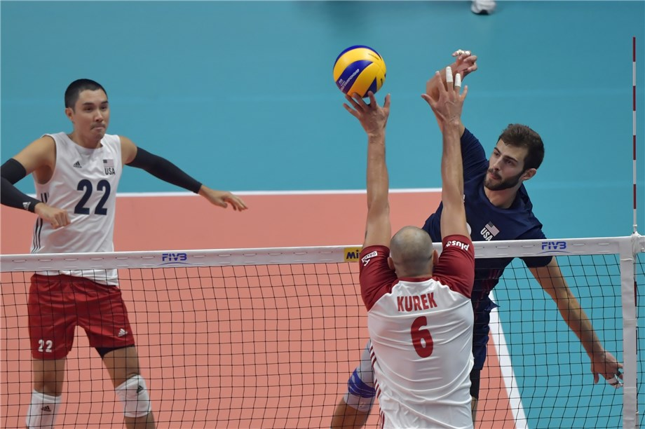 Poland Defeat Usa To Set Up Rematch Of 2017 Final