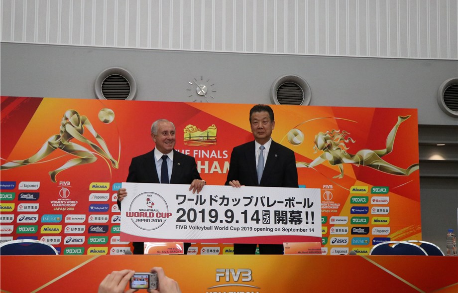 Top News Events Of 2020.News Fivb World Cup To Return To Japan In 2019 Ahead Of Tokyo 2020