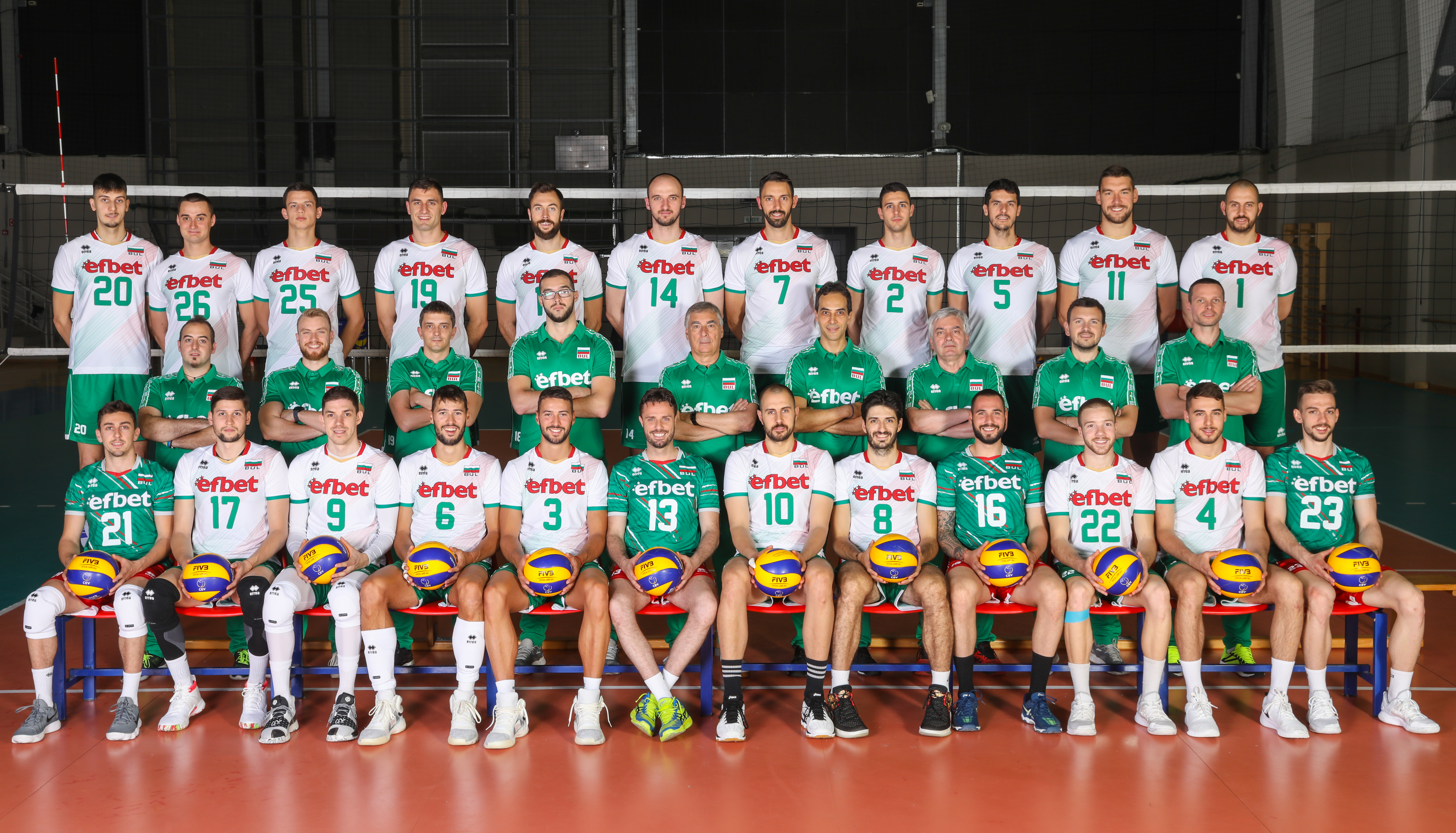 Fivb Volleyball Nations League 2018 Men S Teams Overview Bulgaria Volleyball Nations League 2021