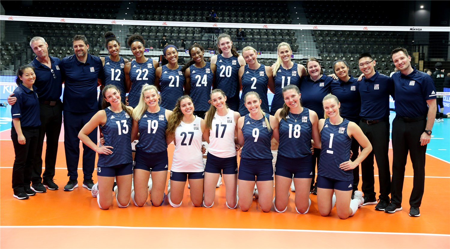 Overview - USA - FIVB Volleyball Nations League 2019