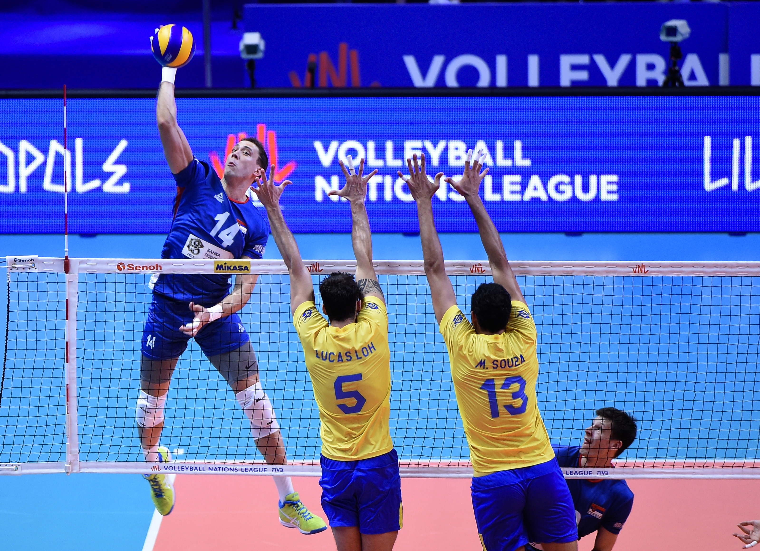 Fivb Men S Volleyball Nations League News Detail Finals Serbia Set Foundation For Vnl Campaign Fivb Volleyball Nations League 2019