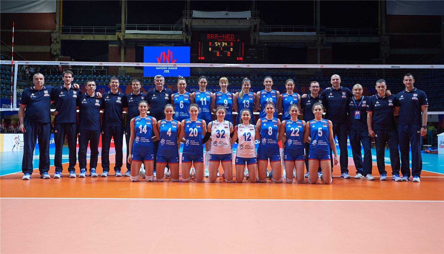 Overview - Serbia - FIVB Volleyball Nations League 2019